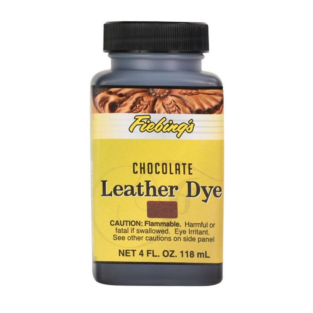 Teinture pour cuir FIEBING'S Leather dye - CHOCOLAT - CHOCOLATE