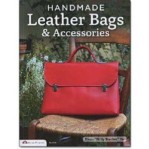 """Livre """"HANDMADE LEATHER BAGS & ACCESSORIES"""" - Sacs en cuir faits à la main et accessoires"""