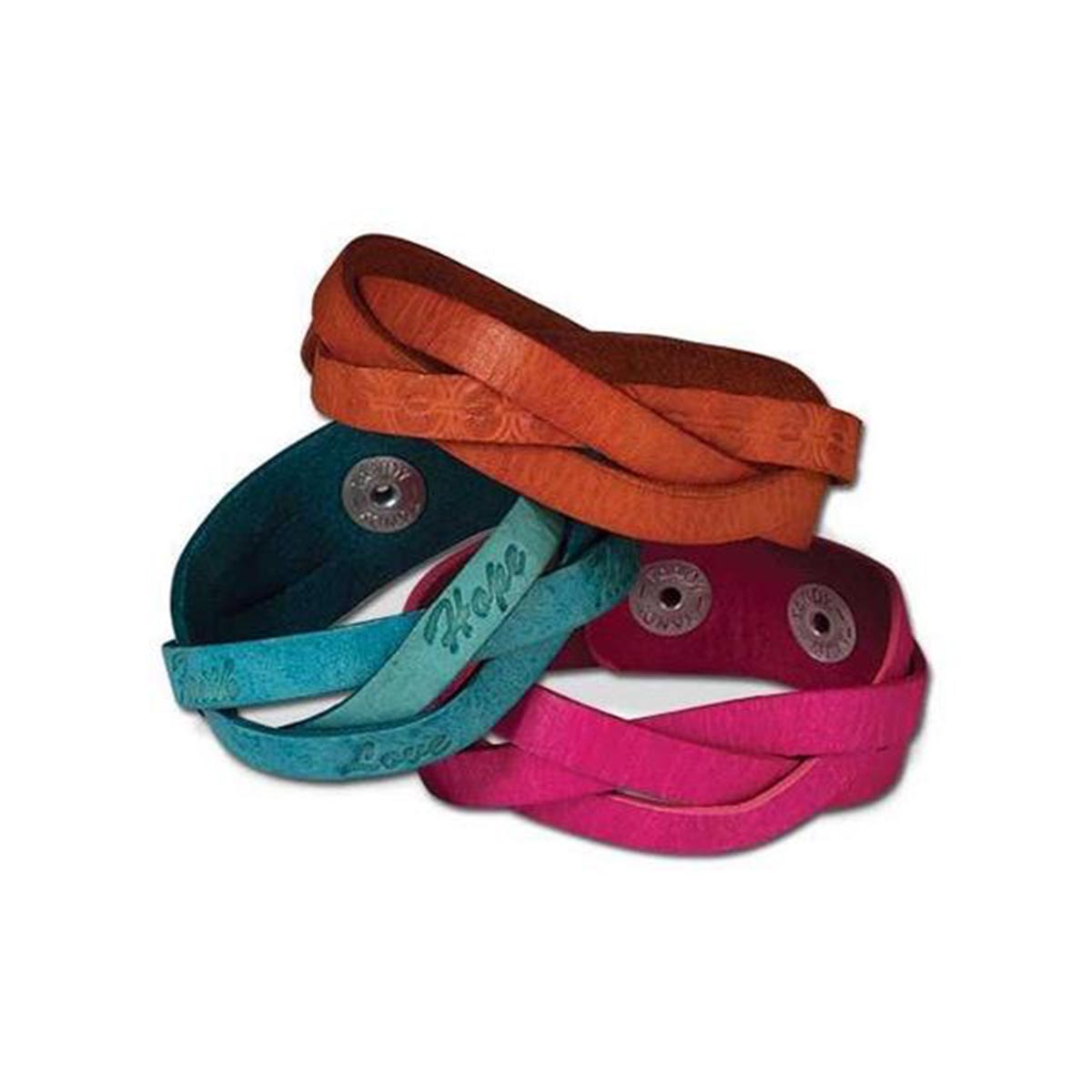 Kit pour 3 bracelets tressés - 25 mm - 44168-03