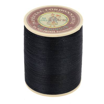Fil Spécial Cordonnerie 100% polyester - Bobine 750 m - ANTHRACITE 158