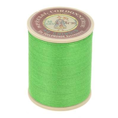 Fil Spécial Cordonnerie 100% polyester - Bobine 750 m - VERT VIF 865