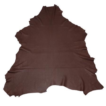 Peau de cuir de cerf - CHOCOLAT - 2' choix