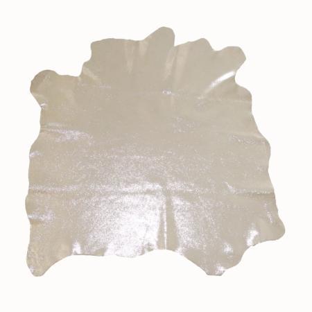 Peau de cuir de chèvre velours effet métallisé - CHAMPAGNE C61