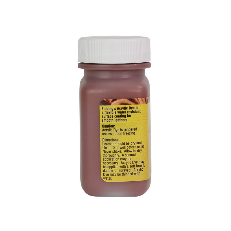 Peinture opaque - Fiebing's Acrylic Dye - MARRON MOYEN / MEDIUM BROWN - 59ml
