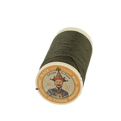 """Cordonnet 100% polyester """"Au Chinois"""" - Bobine de 30 mètres - KAKI 840"""