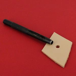 Emporte-pièce à frapper ROND manche DROIT - Diam 5 mm