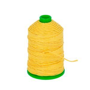 Bobine fil de lin satiné CAMPBELL'S - 132 - d = 0,82 mm - JAUNE