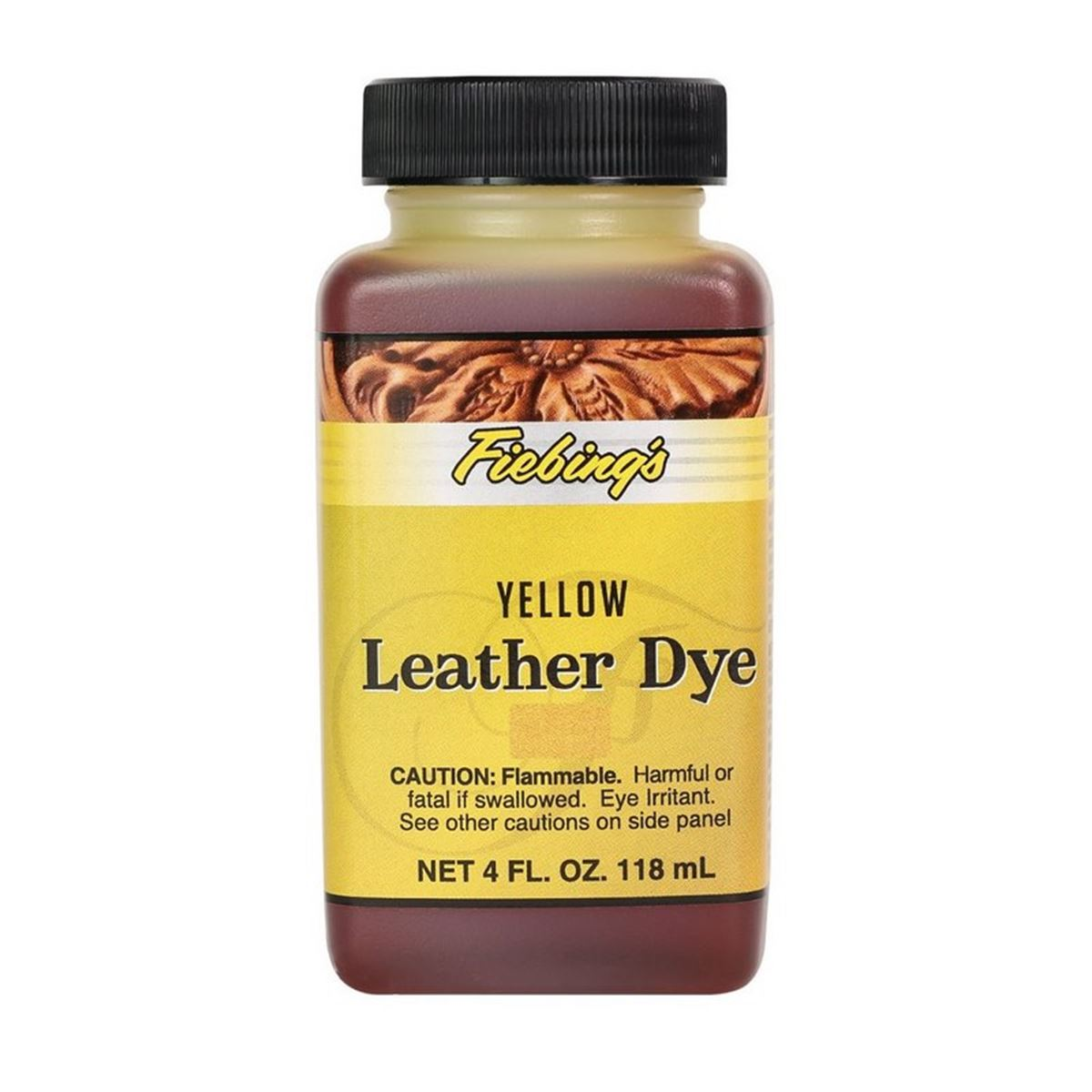 Teinture pour cuir FIEBING'S Leather dye - JAUNE - YELLOW
