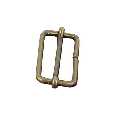Boucle coulissante - Laiton vieilli - 30 x 13 mm - Fil 2,4 mm