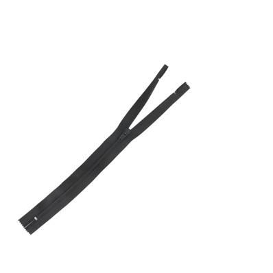 Fermeture à glissière NYLON #4 - NOIR - Longueur 25 cm