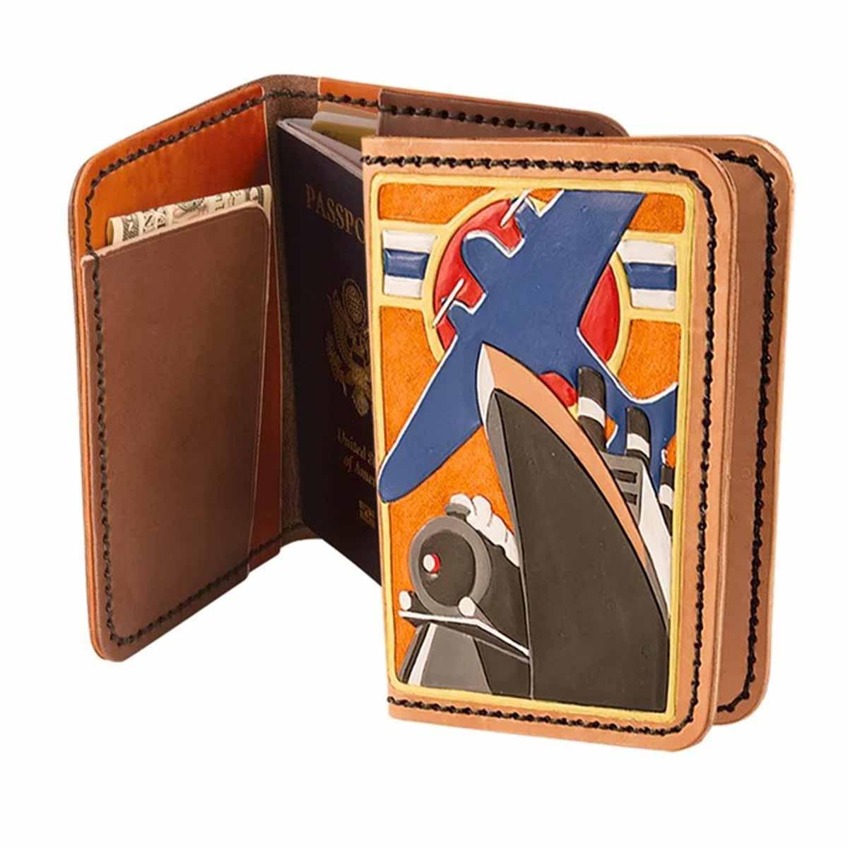 Kit pour étui de passeport en cuir - 4052