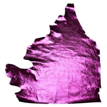 Peau de vachette - ROSE FUCHSIA Métallisé B45