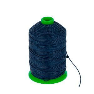 Bobine fil de lin satiné CAMPBELL'S - 232 - d = 0,76 mm - BLEU MARINE
