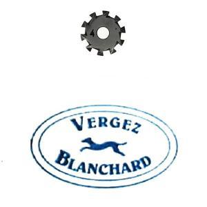 Molette n°4 pour griffe à molette VERGEZ BLANCHARD - Pour DROITIER