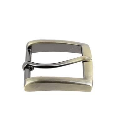 Boucle de ceinture MAX - LAITON VIEILLI SATINE - 35 mm