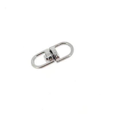 Liaison tournante pour porte-clés - NICKELE - 5 mm