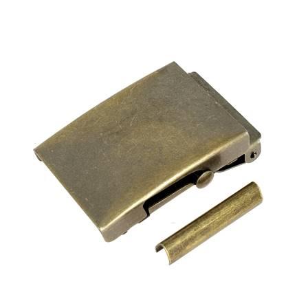 Boucle de ceinture pour sangle SAN - LAITON VIEILLI - 30 mm