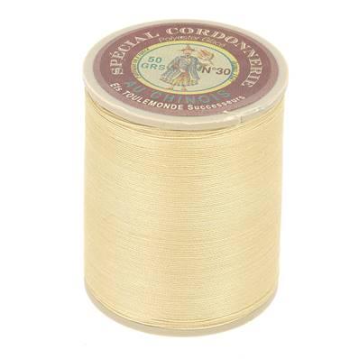 Fil Spécial Cordonnerie 100% polyester - Bobine 750 m - CREME 310