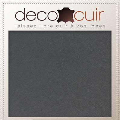 Morceau de cuir SWEET 2 - GRIS - 15x20 cm - Ép 1 mm