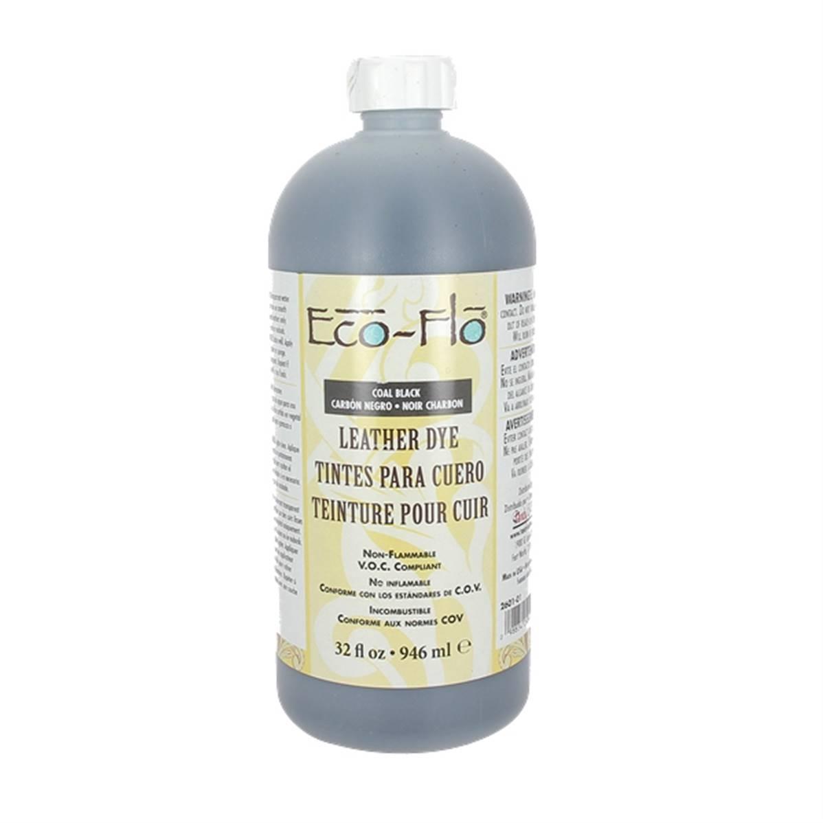 Teinture base aqueuse - Eco-Flo - 946ml - NOIR CHARBON