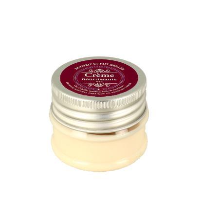 Crème pour nourrir et lustrer le cuir - pot de 20 ml
