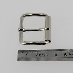 Boucle à rouleau à ardillon - NICKELE - 30 mm
