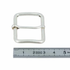 Boucle à ardillon - ARGENT VIEILLI - 35 mm