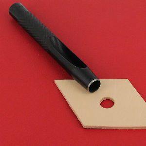 Emporte-pièce à frapper ROND manche DROIT - Diam 10 mm