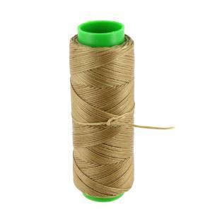 Bobine de fil polyester tressé et ciré - 100 mètres - diam 1 mm - SAVANE