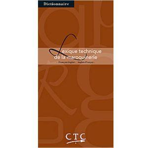 Livre Lexique Technique de la Maroquinerie