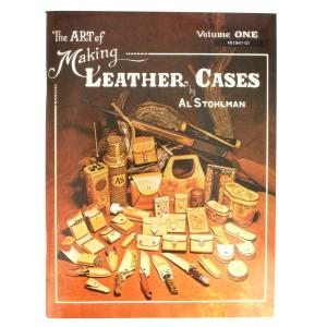 "Livre ""THE ART OF MAKING LEATHER CASES"" - L'art de créer des étuis en cuir - Volume 1"