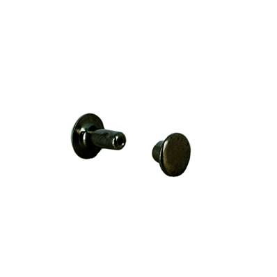 Lot de 20 rivets moyen en laiton (T3) finition Canon de fusil