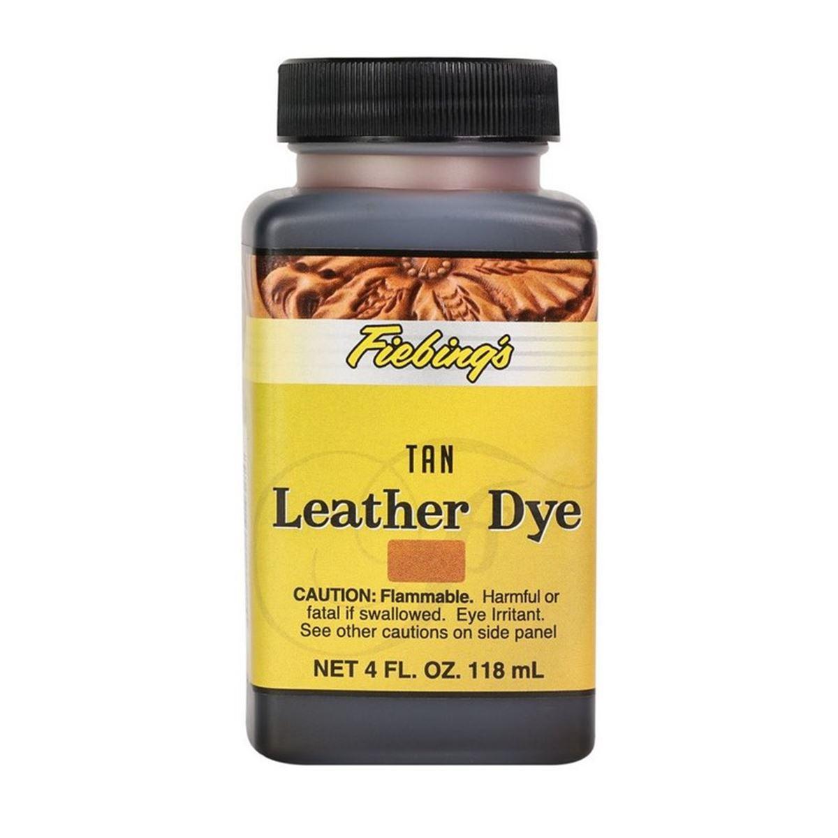 Teinture pour cuir FIEBING'S Leather dye - FAUVE - TAN
