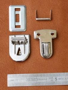 TUCK - fermeture de cartable - 22x30mm - Nickelé