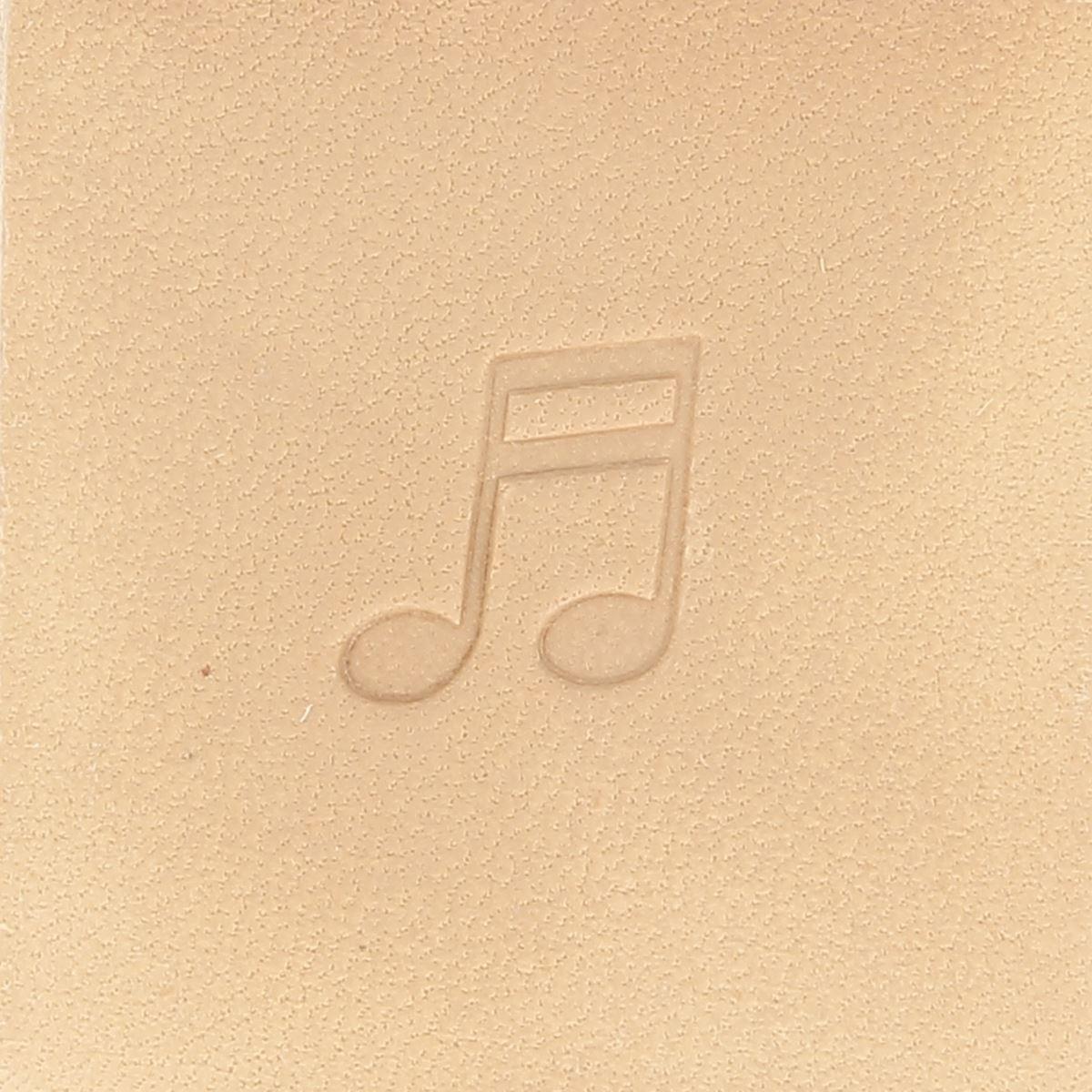 Matoir avec manche - Double note de musique - 66572