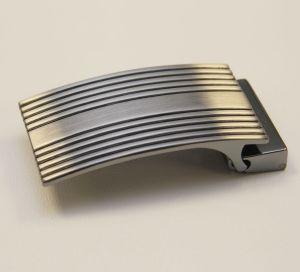 Boucle de ceinture à griffe RON - NICKELÉ SATINÉ - 35 mm