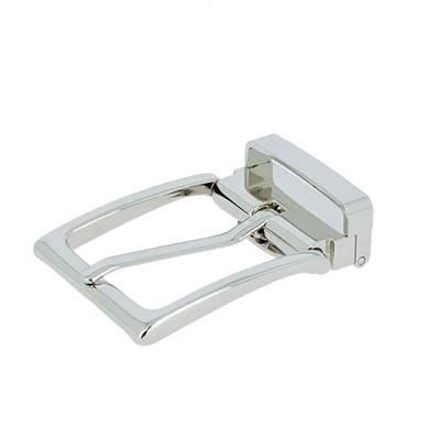 Boucle de ceinture à griffe DIA - NICKELÉ - 40 mm