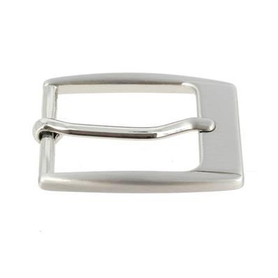 Boucle de ceinture MAC - NICKEL FREE SATINÉ - 30 mm