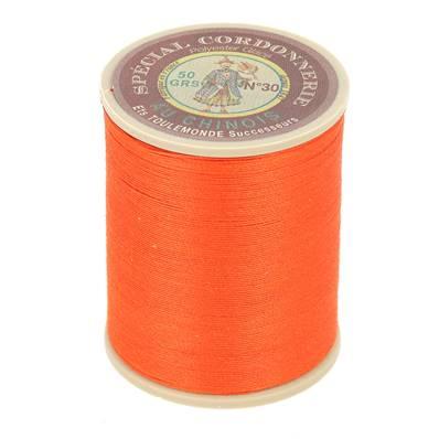 Fil Spécial Cordonnerie 100% polyester - Bobine 750 m - ORANGE 380
