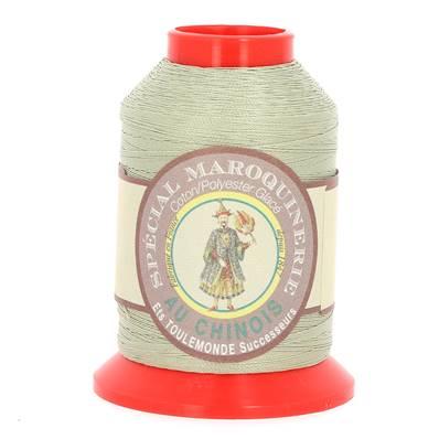 Fil Spécial Maroquinerie polyester coton - 28/2 - 0,38 mm - GRIS