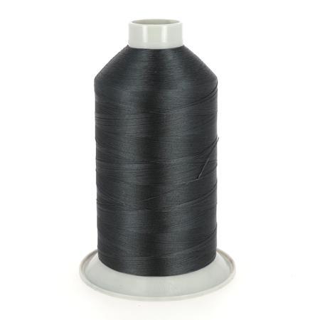 Bobine de fil polyester N°40 - 4000 m - GRIS FONCÉ 4223