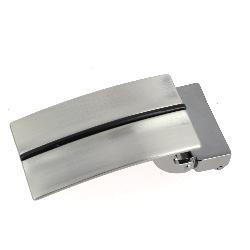 Boucle de ceinture à griffe MEL - NICKELÉ SATINÉ - 30 mm