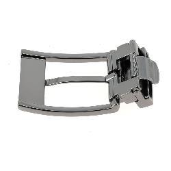 Boucle de ceinture à griffe RAY - CANON DE FUSIL SATINÉ - 30 mm