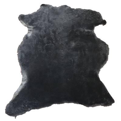 Peau de mouton lainé - Chabrak - NOIR A95