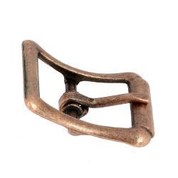 Boucle à faux rouleau TIM - VIEUX CUIVRE - 25 mm - Tandy Leather