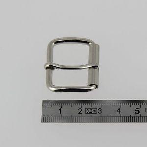Boucle à rouleau à ardillon - NICKELE - 25 mm