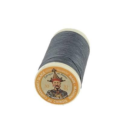 """Cordonnet 100% polyester """"Au Chinois"""" - Bobine de 30 mètres - GRIS 170"""