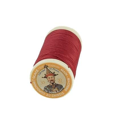 """Cordonnet 100% polyester """"Au Chinois"""" - Bobine de 30 mètres - ROUGE 525"""