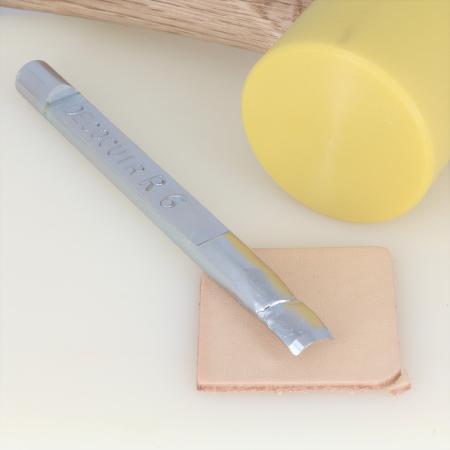 Emporte pièce à frapper Deco Cuir - COINS ARRONDIS - 6 mm