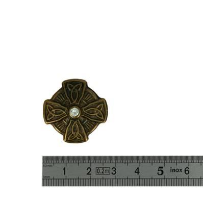 Concho ETOILE CELTIQUE - 26 mm - Laiton vieilli